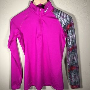 Nike Pro Combat shirt fitted pattern sleeve Sz. S